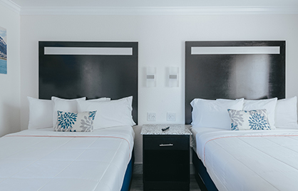 Welcome To Sea Air Inn & Suites  - Family Suite and 2 Double Bedroom